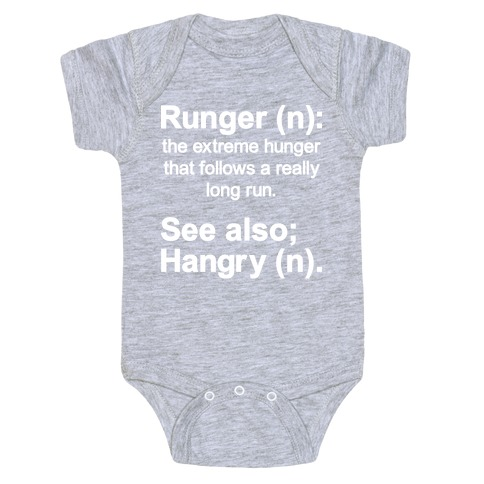 Runger Definition Baby Onesy
