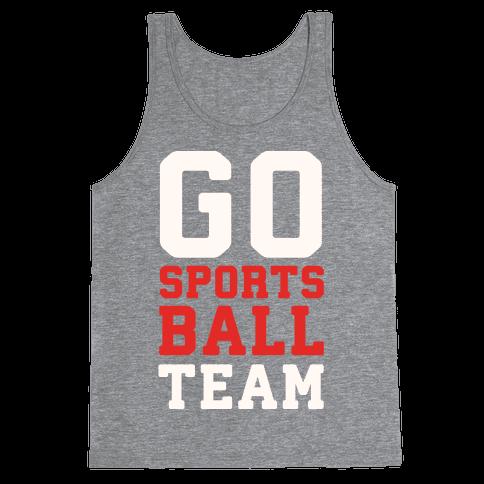 Go Sports Ball Tank Top