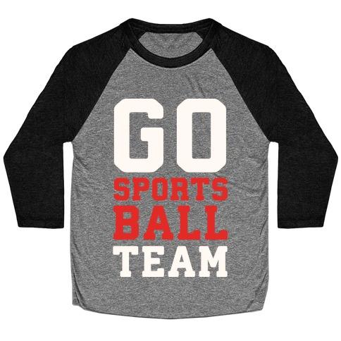Go Sports Ball Baseball Tee