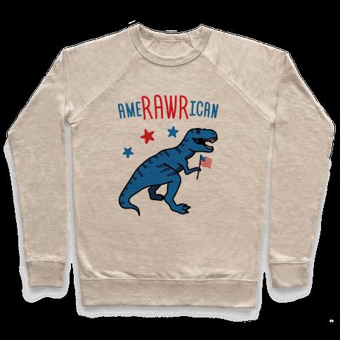 AmeRAWRican Dino Pullover