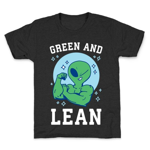 Green and Lean Kids T-Shirt