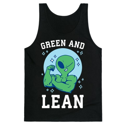 Green and Lean Tank Top