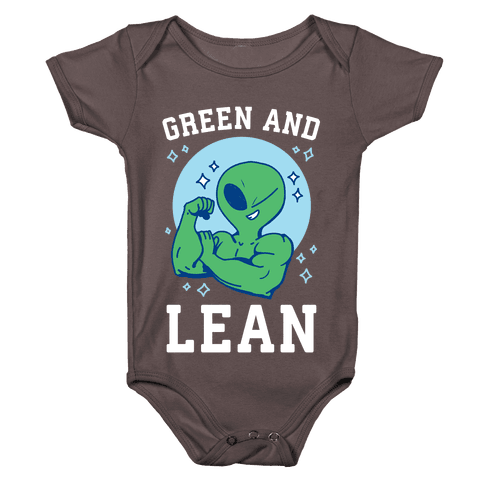 Green and Lean Baby One-Piece