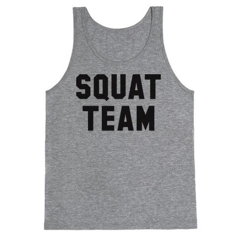 Squat Team Tank Top