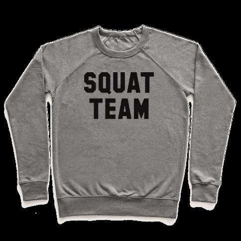 Squat Team Pullover