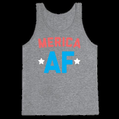 Merica AF Tank Top