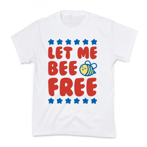 Let Me Be Free Kids T-Shirt