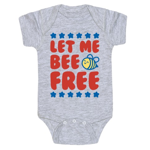 Let Me Be Free Baby One-Piece
