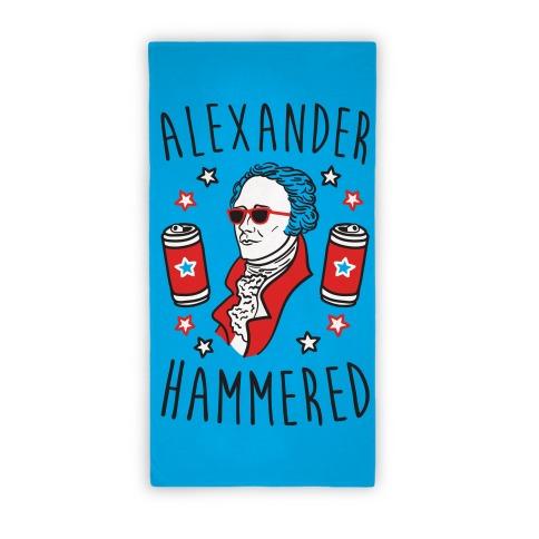 Alexander Hammered (Towel) Beach Towel