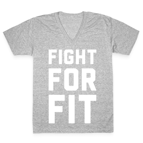 Fight For Fit V-Neck Tee Shirt