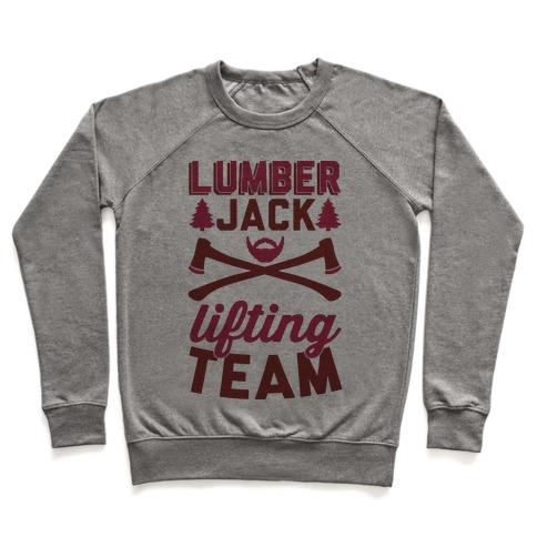 Lumberjack Lifting Team Pullover