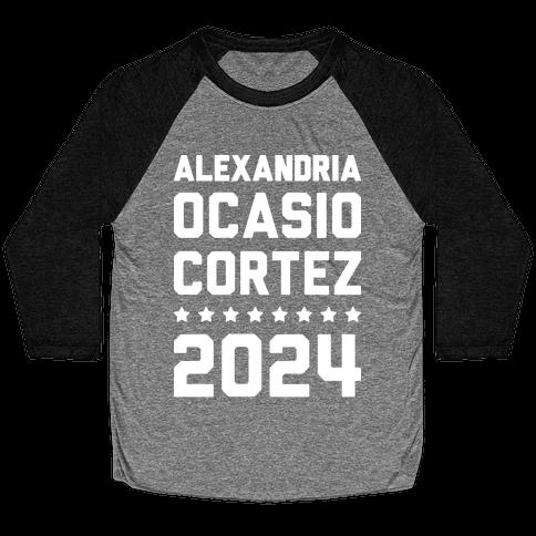 Alexandria Ocasio-Cortez 2024 Baseball Tee