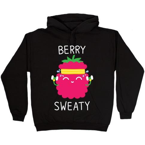 Berry Sweaty Hooded Sweatshirt