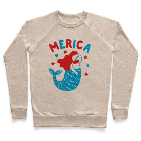 Merica Mermaid Pullover