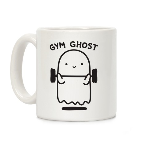 Gym Ghost Coffee Mug