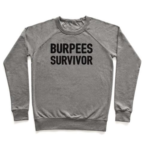 Burpees Survivor Pullover