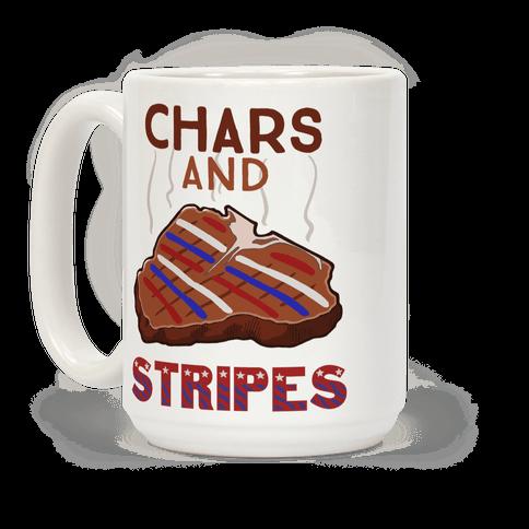 Chars And Stripes Coffee Mug