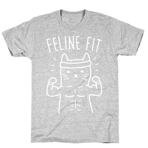 Feline Fit (White) T-Shirt