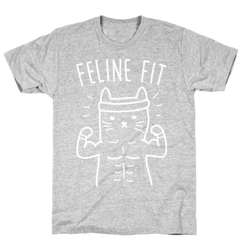 Feline Fit (White) T-Shirt