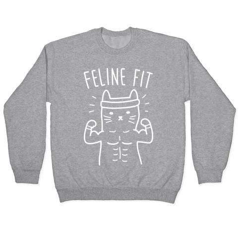 Feline Fit (White) Pullover