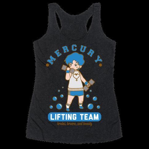 Mercury Lifting Team Parody White