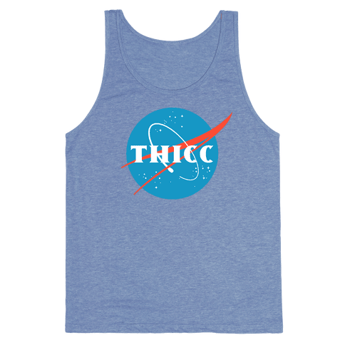 THICC NASA Parody Tank Top