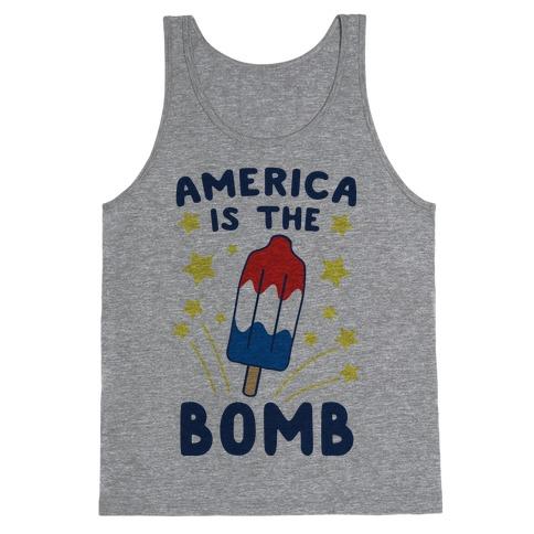 America is the Bomb - Pop Tank Top