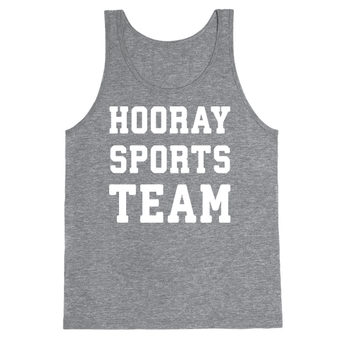 Hooray Sports Team Tank Top
