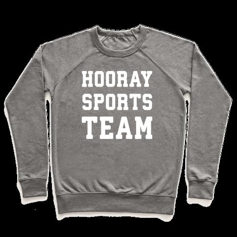 Hooray Sports Team Pullover