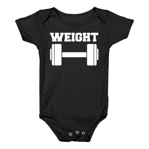 Weight Mates (1 of 2 pair) Baby Onesy