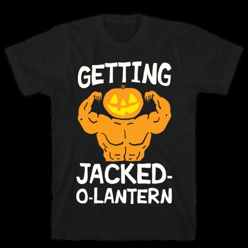 Getting Jacked-O-Lantern Mens T-Shirt