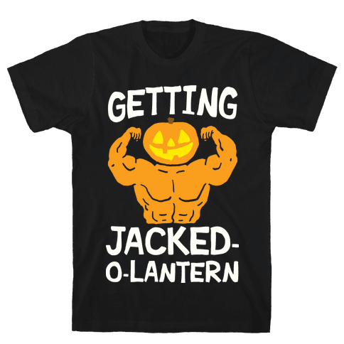 Getting Jacked-O-Lantern Mens T-Shirt