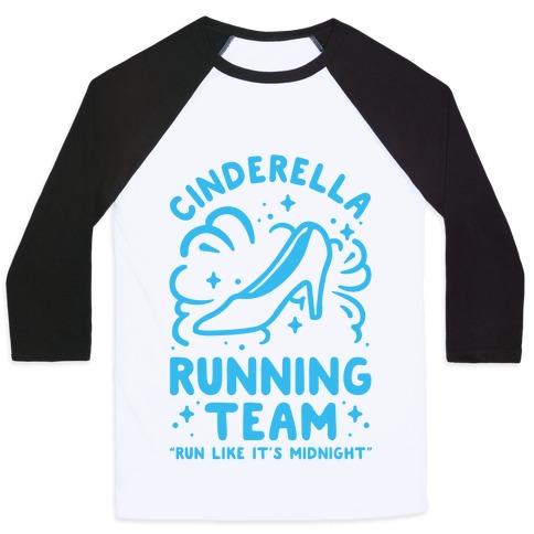 Cinderella Running Team Baseball Tee