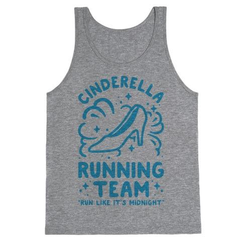 Cinderella Running Team Tank Top