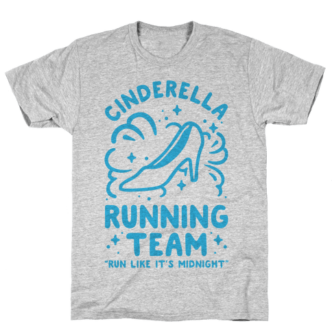 Cinderella Running Team Mens T-Shirt