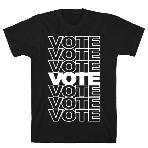 Vote Vote Vote Mens T-Shirt