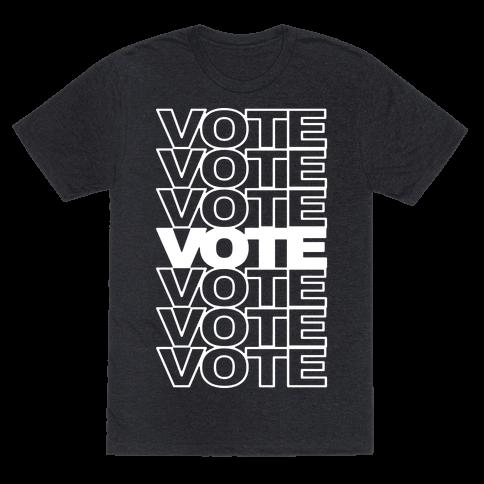 Vote Vote Vote Mens T-Shirt
