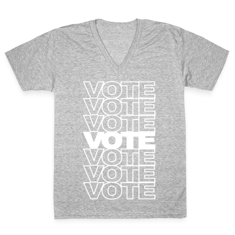 Vote Vote Vote V-Neck Tee Shirt