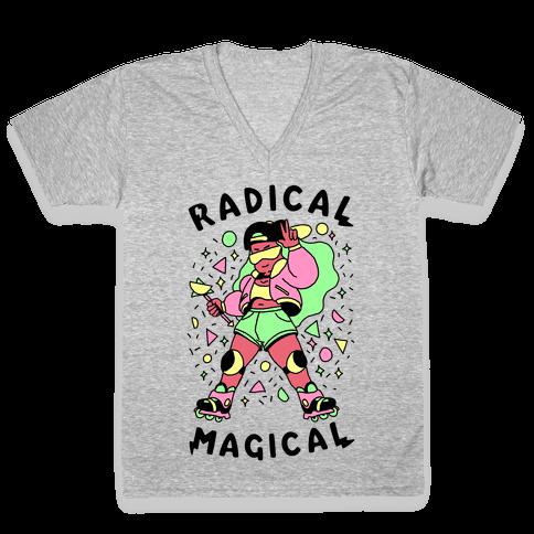 Radical Magical V-Neck Tee Shirt