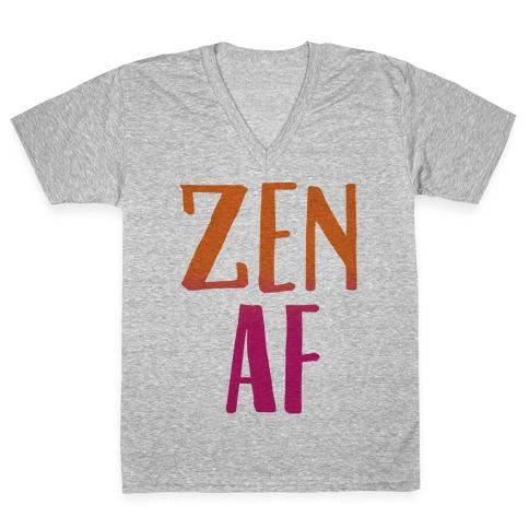 Zen Af V-Neck Tee Shirt