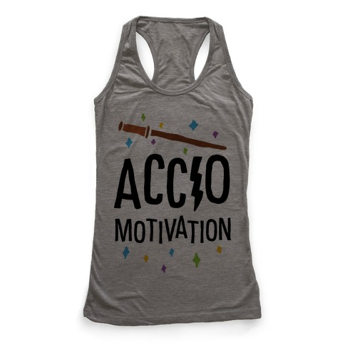 Accio Motivation Racerback Tank Top