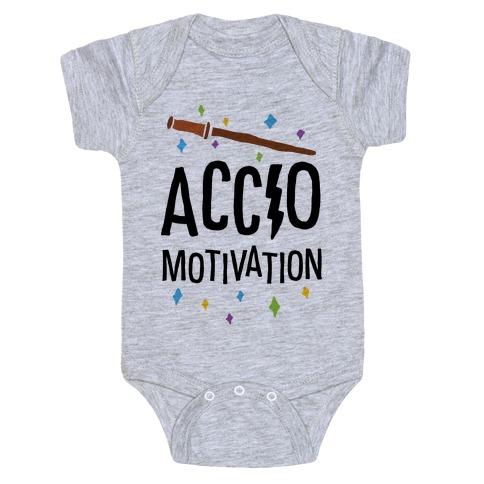 Accio Motivation Baby Onesy