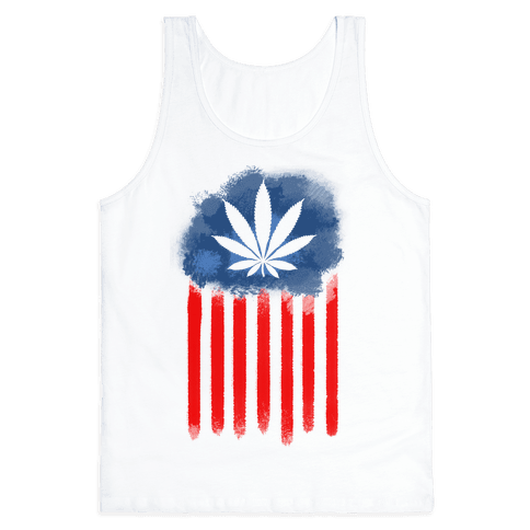 In Weed We Trust Tank Top