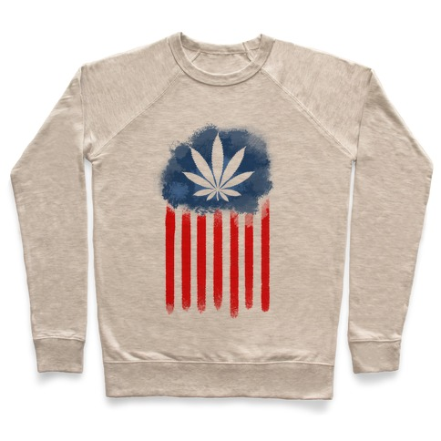 In Weed We Trust Pullover