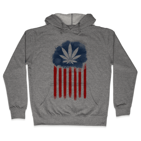 In Weed We Trust Hooded Sweatshirt