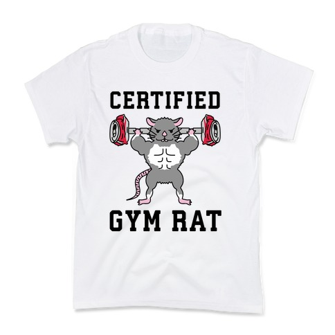 Certified Gym Rat Kids T-Shirt