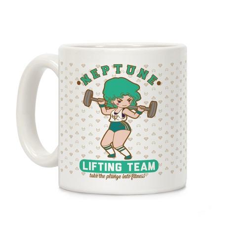 Neptune Lifting Team Parody Coffee Mug