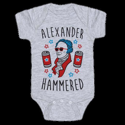 Alexander Hammered Baby Onesy