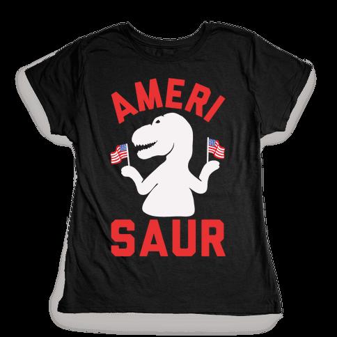 Amerisaur Womens T-Shirt