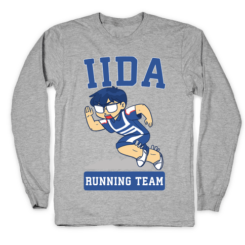 Tenya Iida Running Team Long Sleeve T-Shirt